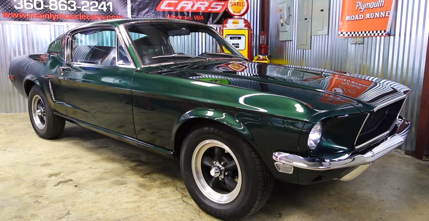 1968 bullitt mustang recreation video