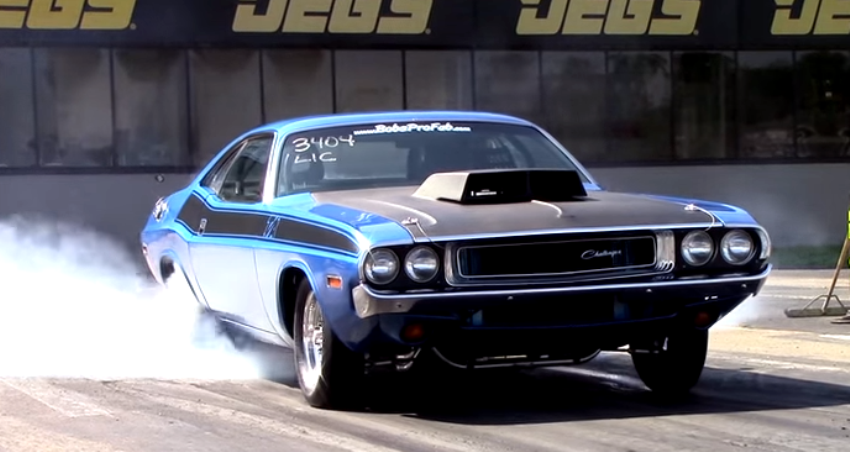 trans am dodge challenger drag racing