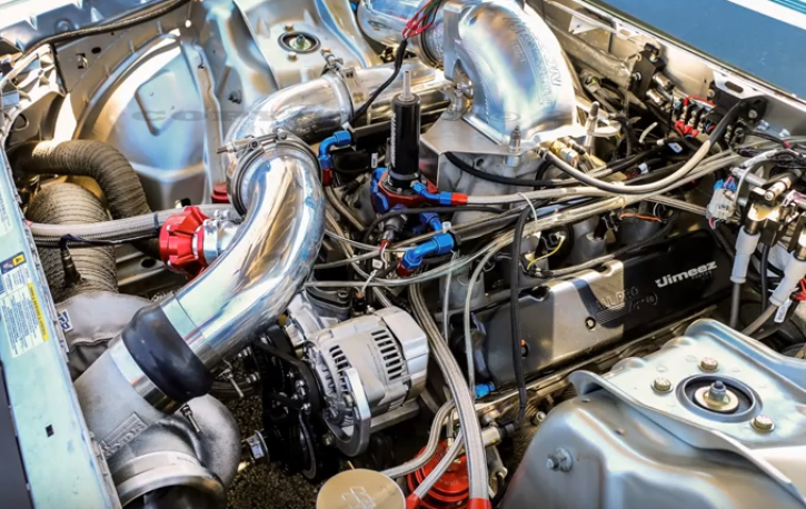 ls powered turbocharged 2010 dodge challenger