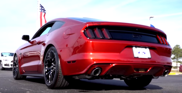 modified 2016 ford mustang gt review