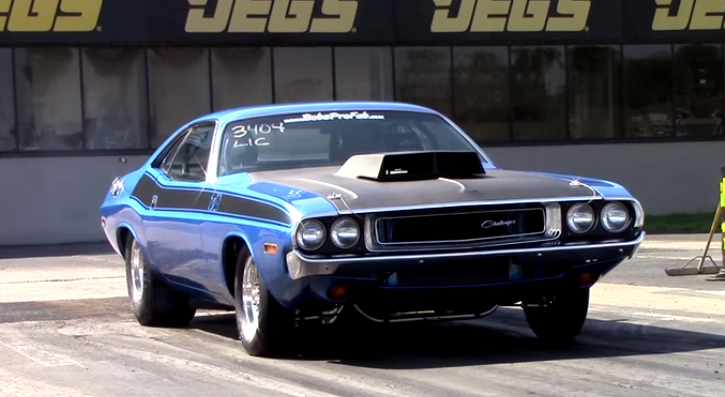 9 second 1970 dodge challenger