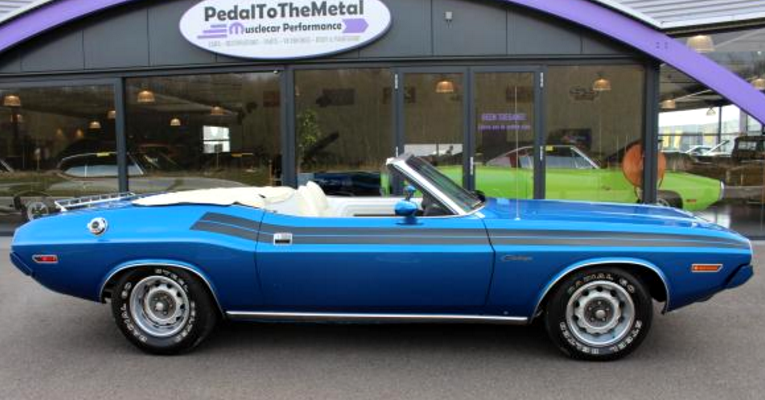 rare 1971 dodge challenger 340 convertible