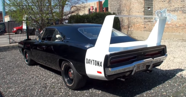 rare 1969 dodge hemi charger daytona 4-speed