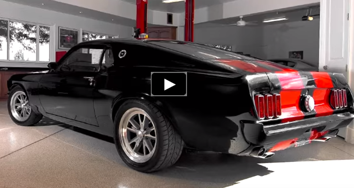 modified 1969 ford mustang