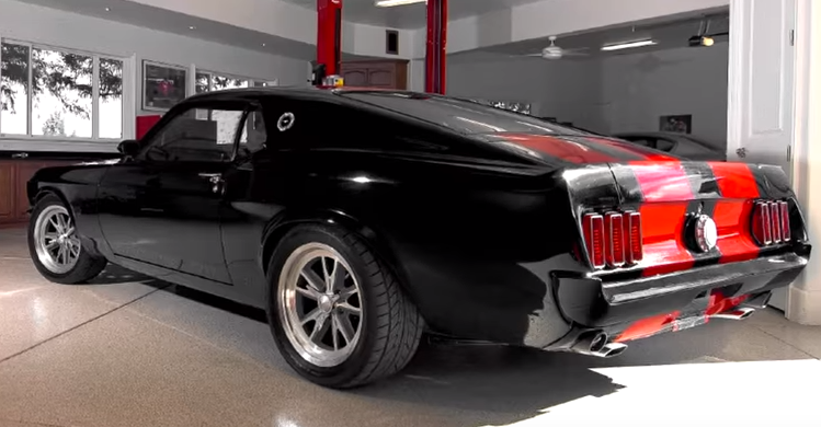 1969 mustang mach 1 dark horse customs