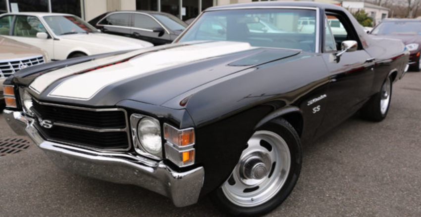 Clean 1971 Chevy El Camino SS Walk Around Video  HOT CARS