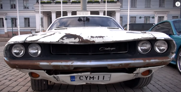 original 1970 dodge challenger death proof movie car