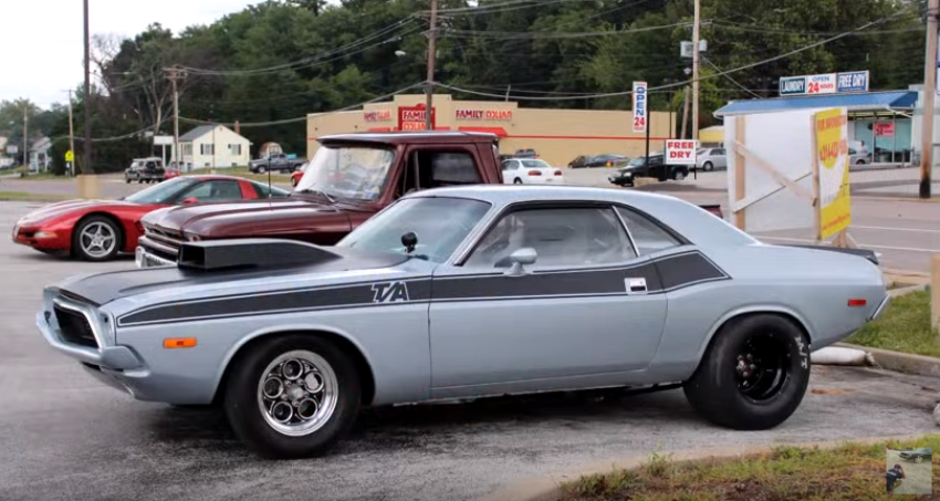dodge challenger t/a video