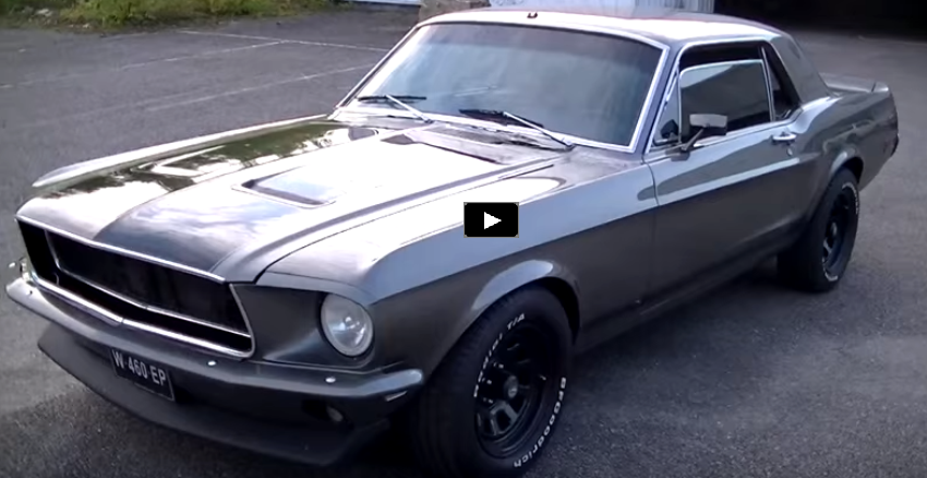 1968 ford mustang restomod