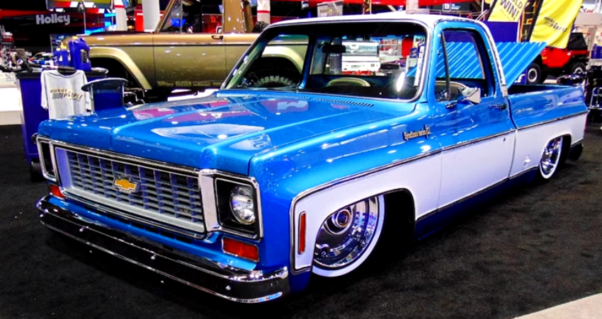 1974 chevy cheyenne super 10 custom truck