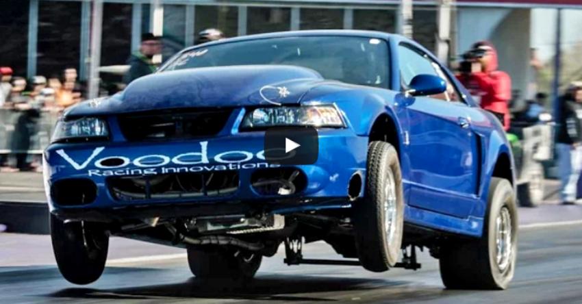 voodoo racing built turbo cobra mustang
