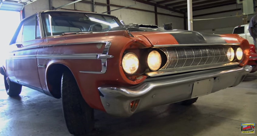 barn find 1964 dodge polara 500 max wedge video hot cars. Cars Review. Best American Auto & Cars Review