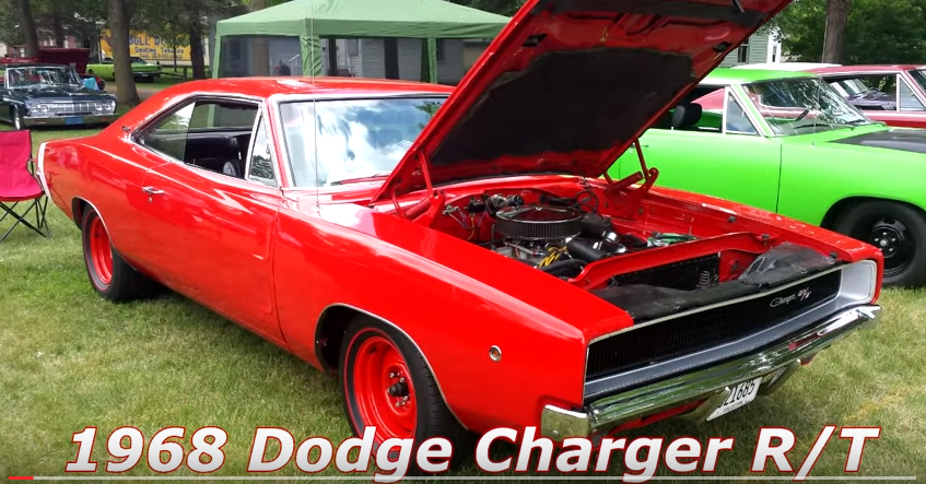 restored 1968 dodge charger r/t