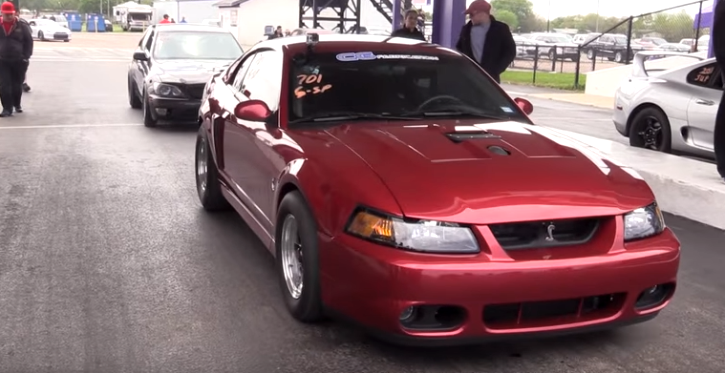 9 second turbo cobra mustang drag racing
