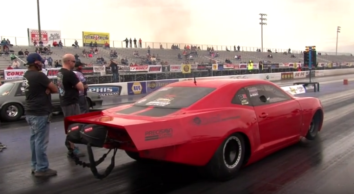Hellcat Challenger For Sale >> 4-Sec Twin Turbo Camaro on Radials   Drag Racing   HOT CARS