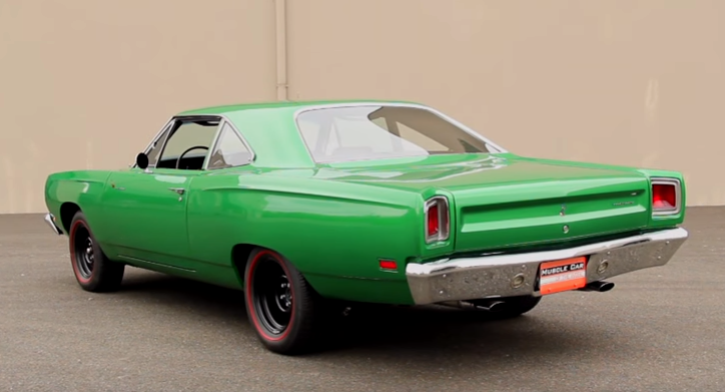 1969 plymouth road runner a12 collector car