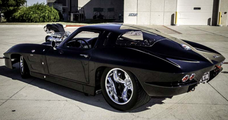split window 1963 corvette pro street