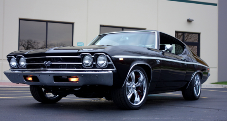 1969 chevy chevelle ss pro touring build