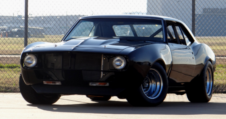 1968 chevy camaro custom built for the race track