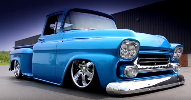 Top Notch 1959 Chevy 3100 Custom Pick Up Truck Hot Cars