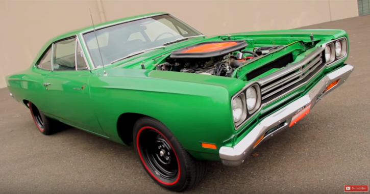 rare 1969 plymouth road runner a12 package