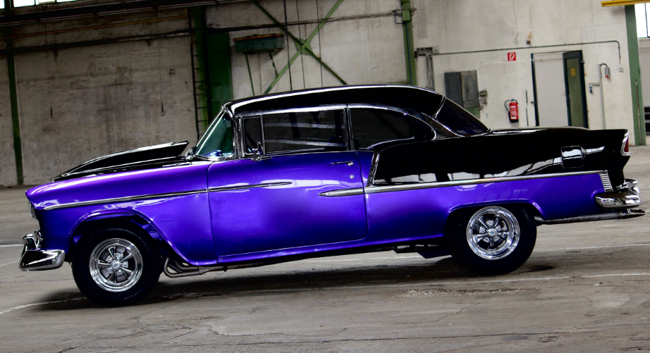 1955 chevy bel air custom