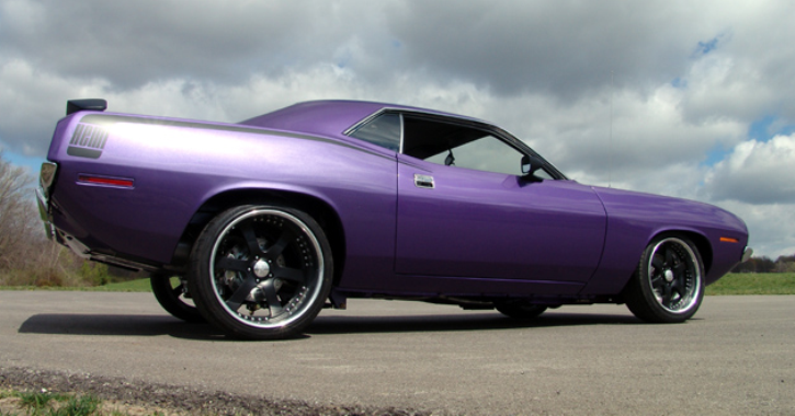 plum crazy purple 1970 plymouth hemi cuda for sale
