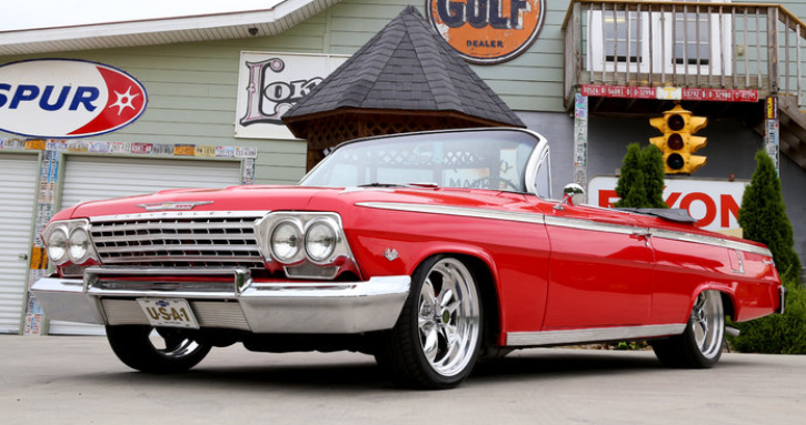 1962 chevy impala 283 convertible