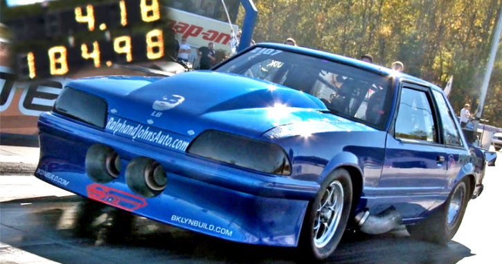 mustang mike fox body mustang drag racing