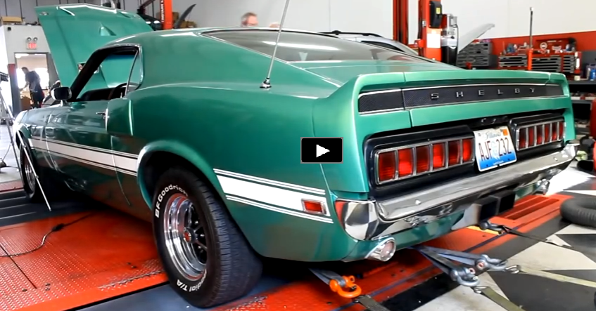 1969 mustang shelby gt500 427 cobra fe dyno session