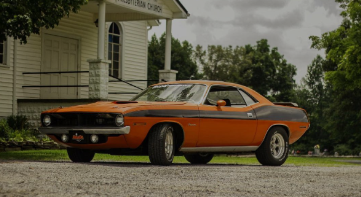 real 1970 plymouth cuda 383 big block 4-speed video