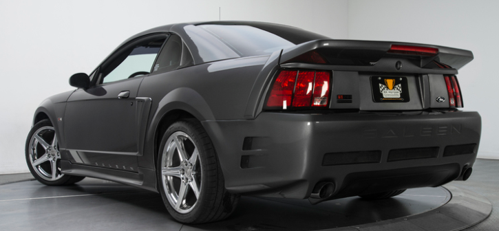 supercharged 2003 mustang saleen s281 coupe