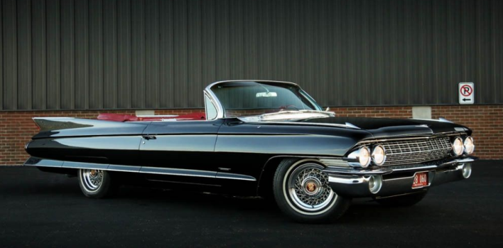 convertible 1961 cadillac restoration