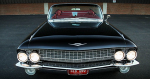 restored 1961 cadillac convertible