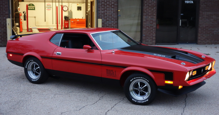 rare 1971 ford mustang mach 1 show winner