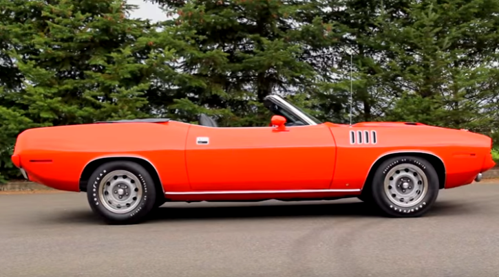 tor red 1971 plymouth cuda convertible brothers collection