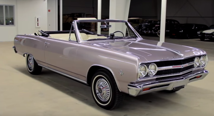 convertible 1965 chevy malibu ss restoration