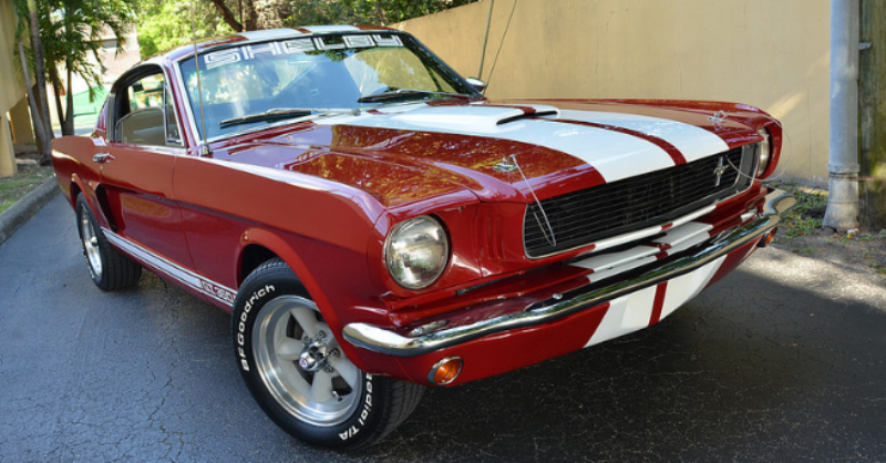 1966 ford mustang shelby gt350 tribute