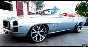 high end custom 1969 chevy camaro convertible