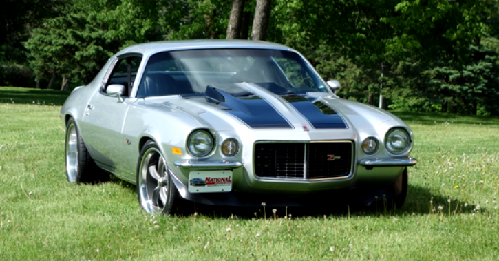 true 1973 chevrolet camaro z28 pro touring review