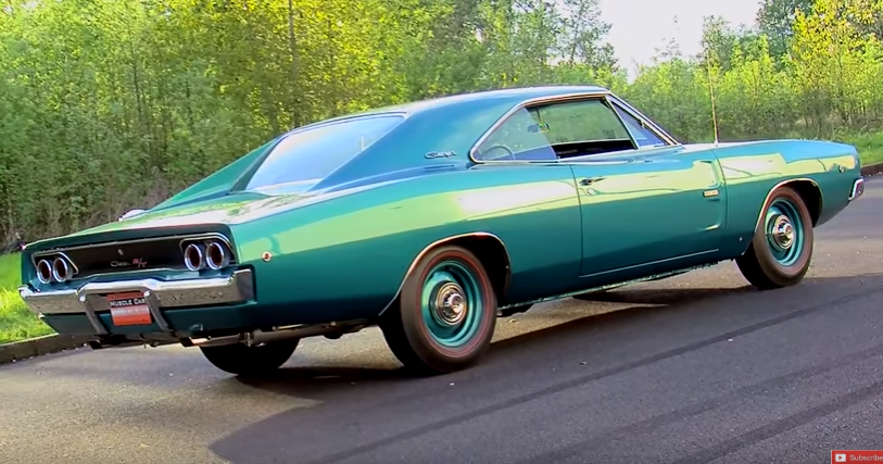restored 1968 dodge hemi charger collector car