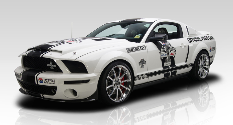 2007 ford mustang shelby gt500 super snake pace car