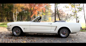 restored 1965 ford mustang 289 convertible video