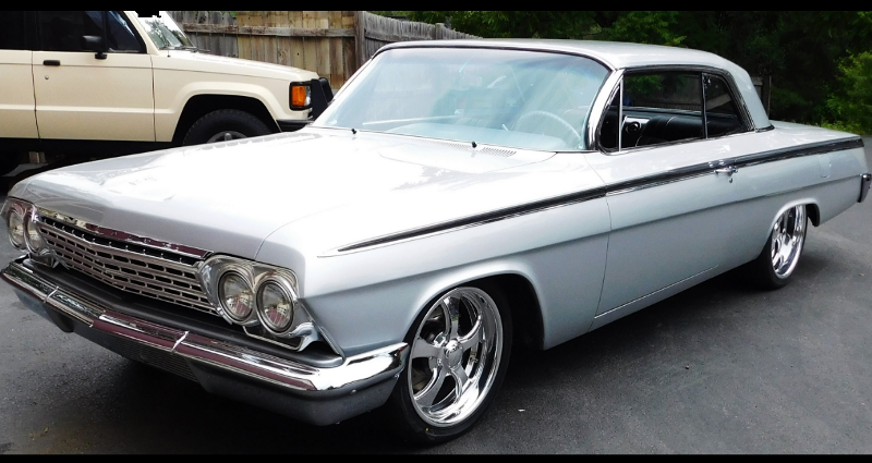 custom built 1962 chevy impala ls