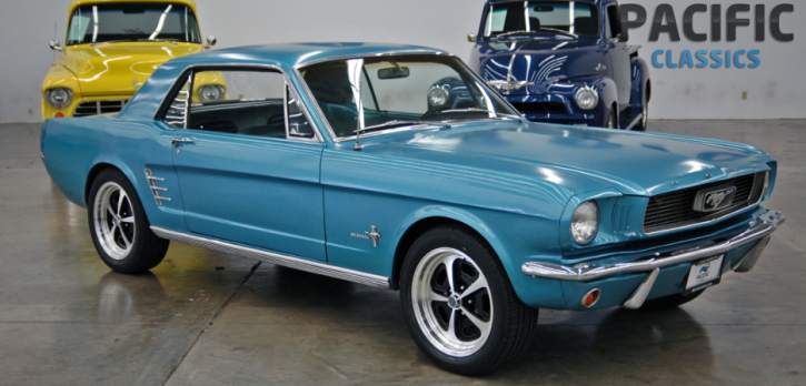 restored 1966 ford mustang coupe
