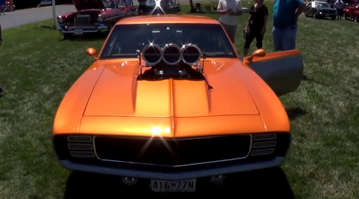 highly modified 1969 chevrolet camaro video