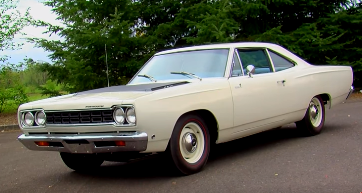 rare 1968 plymouth hemi road runner