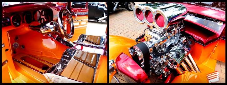 blown 1930 ford model a hemi hot rod