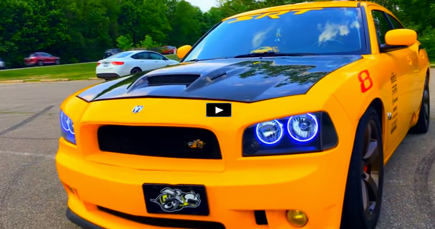 2007 dodge hemi charger super bee video