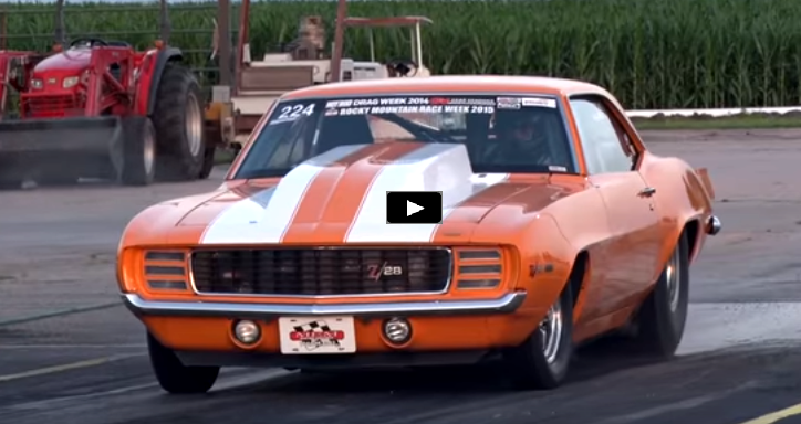street legal twin turbo 1969 chevy camaro drag racing